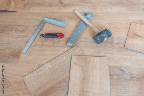 Fußboden Verlegen Werkzeug ~ Laminat selbst verlegen bauen