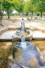Traditional water filter system at Donggung Palace  in Gyeongju, S.Korea - Tour Destination
