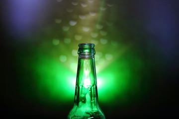 Obraz butelka - fototapety do salonu