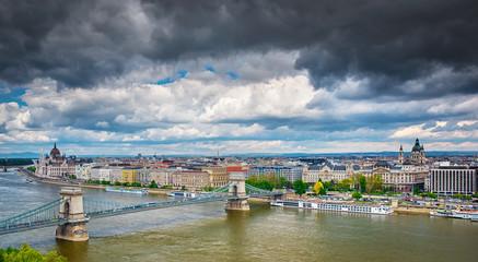 Stormy Budapest