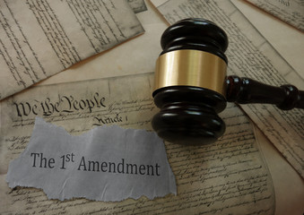 First Amendment constitution rights