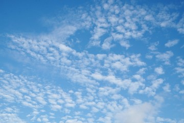 Beautifu blue sky and clound