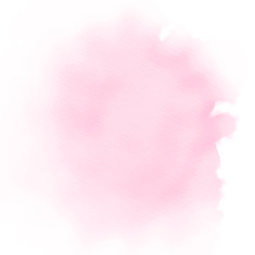 light pink watercolor