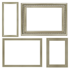 collection of vintage silver picture frame