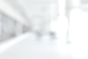 White blur medical abstract background Wall mural