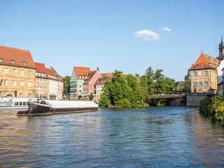 Wall Mural - Blick auf die Untere Brücke in Bamberg