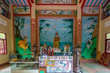 Chinesischer Tempel auf Koh Samui