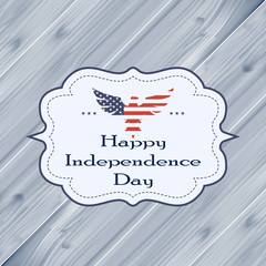 Happy independence day. 4 th of July