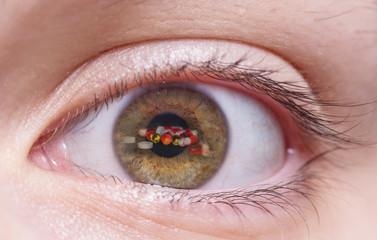 глаз человека и пагубные привычки