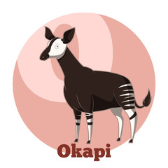ABC Cartoon Okapi