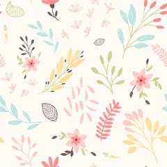 Cute floral patte