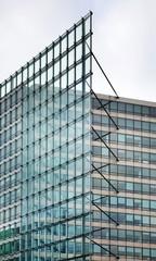 Fragment of modern building in Brussels. Belgium