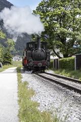 Achenseebahn am Achensee in Tirol, Österreich