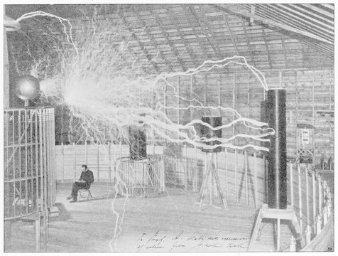 Science - Tesla 1899. Date: 1899-1900