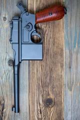 vintage Mauser submachine gun