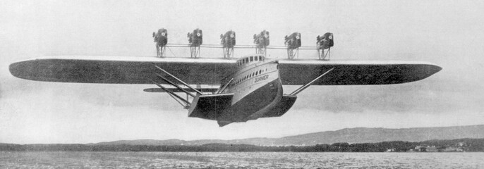 Dornier Do-X Photo. Date: 1930