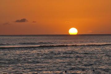 Sonnenuntergang Molokai