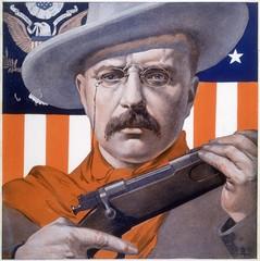 Theodore Roosevelt. Date: 1906