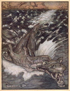 Leviathan. Date: 1908