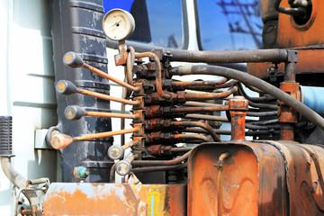 Hydraulic Control Handles of Crane Truck