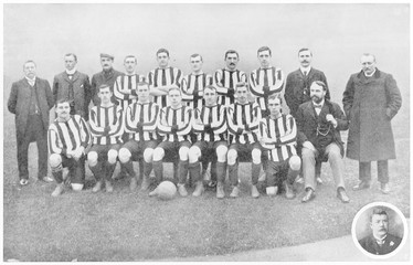 Sunderland Football Club. Date: 1905