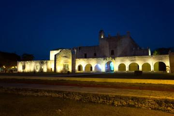 Fototapete - Historic Monastery at Night