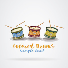 Poster drums summer