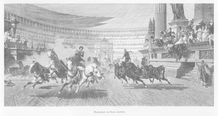 Chariot Racing. Date: ancient
