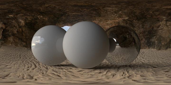 Beach Cave Inside