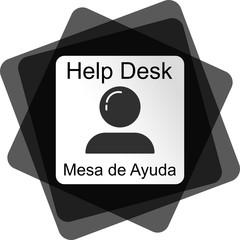 Logotipo Mesa de Ayuda HELPDESK
