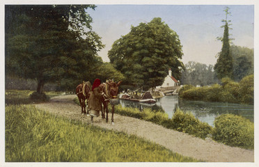 Grand Junction Canal. Date: 1926