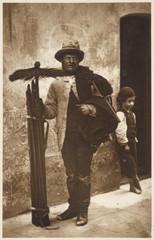 Chimney Sweep - Boy - 1877. Date: 1877