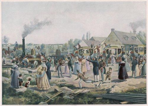 Open - Stockton-Darlington. Date: 27 September 1825