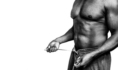Men's Health In Black and White