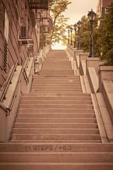Park Terrace Steps, Washington Heights, Manhattan, New York City, USA