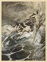 Myth - Mythology - Rhinemaidens