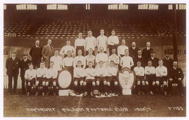 Football - Team Pic - Fulham. Date: 1906/7