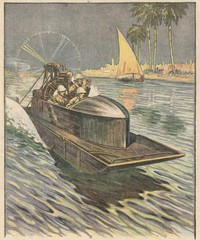 Hydroplane on the Tigris. Date: 1919