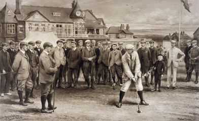 1st Golf International. Date: 1902