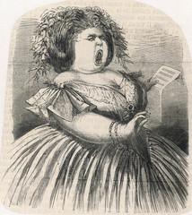 Lis - Fat Lady Sings. Date: circa 1860
