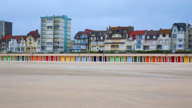 BEACH OF THE TOUQUET , HAUTS DE FRANCE , FRANCE