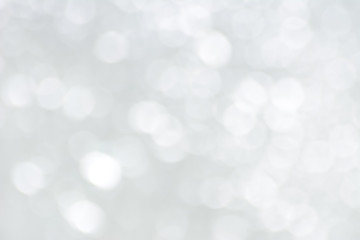 White bokeh abstract background Wall mural