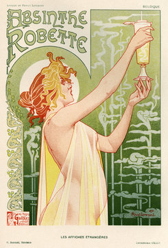 Absinthe Poster. Date: 1896