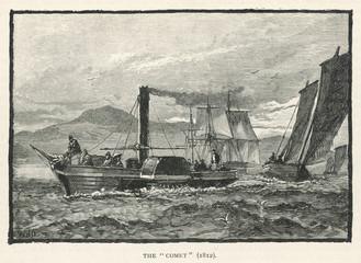 Bell's 'Comet'. Date: 1812