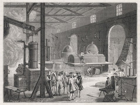 Factory Interior. Date: 18th century