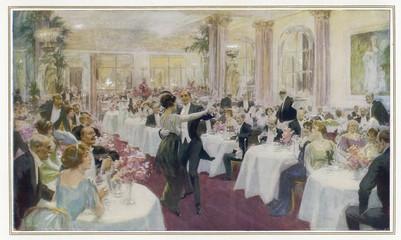Tango Demonstration. Date: 1914