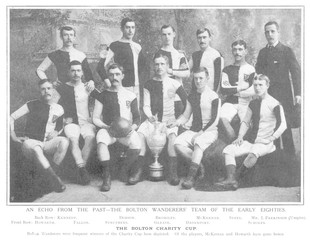 Bolton Wanderers Fc. Date: circa 1881