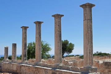 Ruinen des antiken Kourion