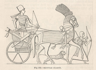 Transport - Chariot. Date: Ancient