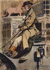Foto op Canvas Art Studio Amateur Coach Driver. Date: circa 1830